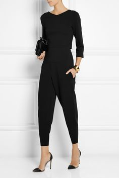 Stella McCartney | Jersey tapered pants | NET-A-PORTER.COM