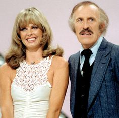 Bruce Forsyth & his wife at the time, Anthea Redfern hosting The Generation Game . 1970s Childhood, My Childhood Memories, Bruce Forsyth, Generation Game, Vintage Television, Kids Tv, Old Tv Shows, Vintage Tv, Teenage Years