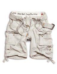 SURPLUS Division Shorts weiß XS-XXL
