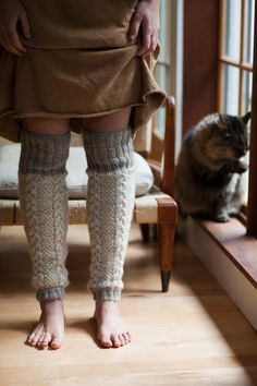 .legwarmers - must draft a pattern so I can knit these
