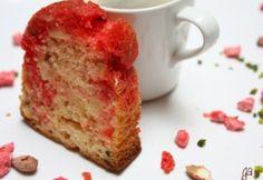 Cake aux pralines roses