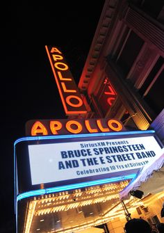 Click to see the video!! Bruce Springsteen Performs at the Apollo - Bruce Springsteen and The E Street Band cause mayhem at the Apollo - The Way You Do the Things You Do