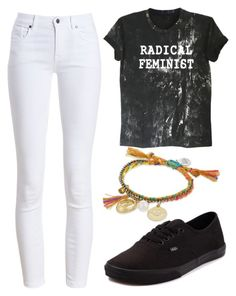 """""""Untitled #56"""" by mairiajarvis on Polyvore featuring Barbour, Vans and Venessa Arizaga"""