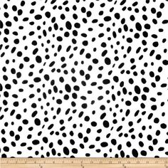 Dalmatian Print Fabric, Premier Prints Togo White Black Home Decor Fabric, Black and White Spots Fab Black Pillow Covers, Black Pillows, Duvet Covers, To Go, Ironing Board Covers, Black And White Fabric, Black White, Premier Prints, Gold Fabric