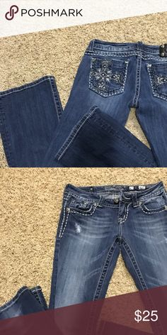 Miss Me Jeans Very good used condition. Smoke free home. Miss Me Jeans Boot Cut