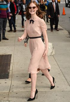 Elle Fanning - 'Late Show With David Letterman' in New York City.  (October 2014)
