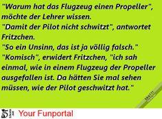 Warum Flugzeuge einen Propeller haben