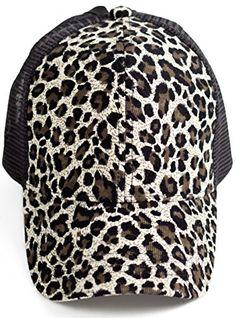BOEKWEG Women's ponytail hat. Fashionable hats made for p...