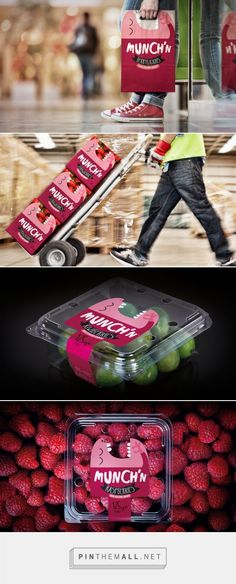 Freshmax, one the largest fresh produce companies in the Pan-Pacific region wanted to create an brand they could use across their berry fruit portfolio. The idea for Munch'n was driven by perfect little fruit mouthfuls that you just can't stop popping.