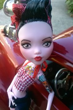 OOAK Monster High Doll Custom and Repaint by PrettyPistolDesigns1, $99.95