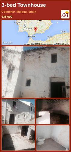 3-bed Townhouse in Colmenar, Malaga, Spain ►€36,000 #PropertyForSaleInSpain