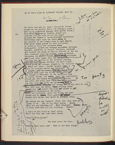 Explore the 'Manuscript of T S Eliot's The Waste Land, with Ezra Pound's annotations', on the British Library's website.