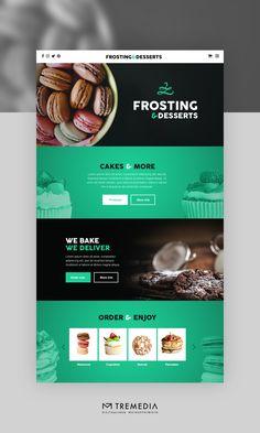 Cakes And More, Lorem Ipsum, Web Design, Baking, Desserts, Tailgate Desserts, Design Web, Deserts, Bakken