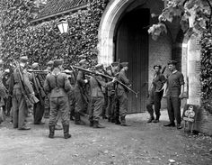 German soldiers who surrendered after the liberation of...