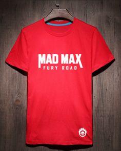 Mad Max Fury Road t shirt for men XXL cotton tshirt short sleeve -