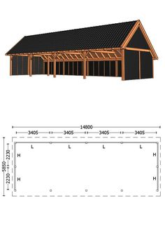 Carport Plans, Carport Garage, Wooden Greenhouses, Garage Addition, Wood Shed, Coach House, Shed Design, Craftsman House Plans, House Made