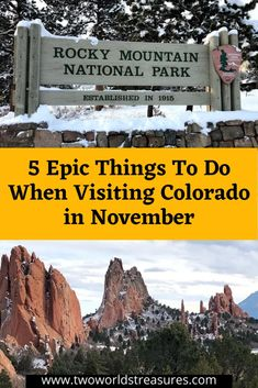 Epic Road Trip to Colorado in November - TWO WORLDS TREASURES