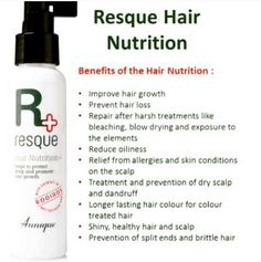 Do you want to grow your hair in a healthy, fast way? #sa #beauty #hair #health #annique #resque #grow Contact Vanessa 0836614732