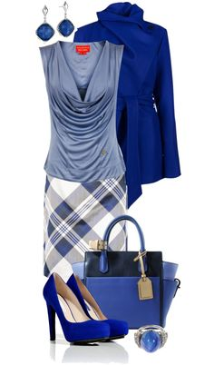 """blue blue mood"" by sagramora ❤ liked on Polyvore"