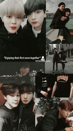 i stan vkook but this is cute Jimin Jungkook, Bts Bangtan Boy, Namjoon, Taehyung, Vmin, Foto Bts, Bts Memes, Kpop, Jimin Wallpaper