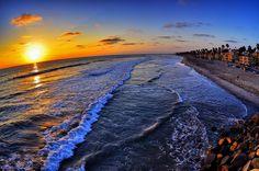 September 26, 2012 - Oceanside Pier at Sunset