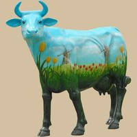 Holland Cow, life size cow, cow replica, cow statue