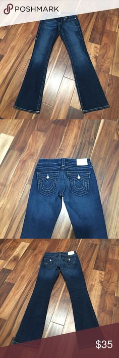 True religion jeans Like new condition. No tears or stains True Religion Jeans