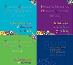 PEDE Programa para trabajar con el alumnado, profesorado y familia #EMOCREA   #educación emocional #programa educación emocional