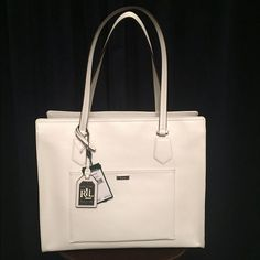 flat leather handle details one side folded for shopper - Google Search