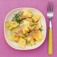Ananassalat mit Zitronengras