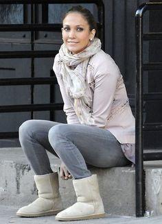 Jennifer Lopez style.