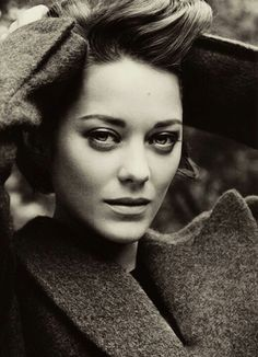 Marion Cotillard - I like her delicate look and the choice of her roles is most of the time brilliant.