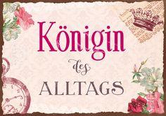 Königin - Postkarten - Grafik Werkstatt Bielefeld