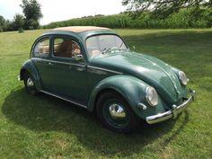 1957 VW Beetle Ragtop Oval Window