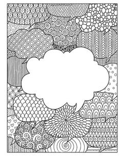 Soccer Mom: A Humorous Adult Coloring Book For Relaxation & Stress Relief: (Humorous Coloring Books For Grown-Ups) Coloring Book Pages, Coloring Sheets, Doodle Coloring, School Binder Covers, Notebook Covers, Zentangle Patterns, Zentangles, Elementary Art, Printable Coloring