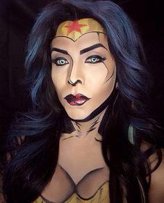 Comic Book Makeup | POPSUGAR Beauty