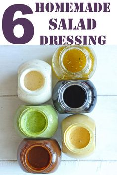 6 Best Salad Dressing Recipes - Fun FOOD and Frolic