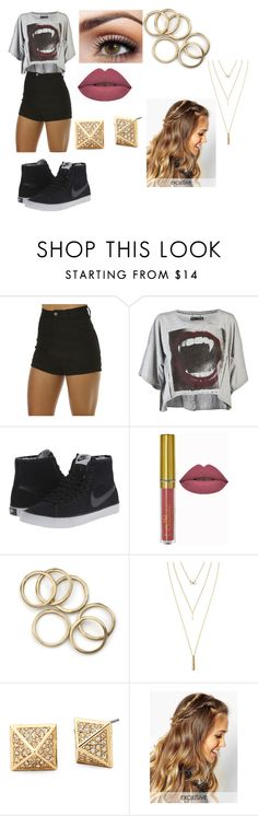 """""""Untitled #356"""" by ray-dany ❤ liked on Polyvore featuring Wrangler, Religion Clothing, NIKE, Jules Smith, DesignSix, women's clothing, women's fashion, women, female and woman"""