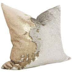 "Features:  -Fabric material: Sequins and polyester.  -Zipper enclosure.  Country of Manufacture: -United States.  Size: -18"" Square.  Product Type: -Throw pillow.  Style (Old): -Glam.  Shape: -Square."