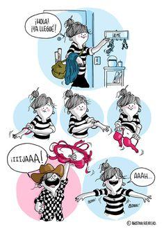 Diario de una volátil é o divertido trabalho da designer e ilustradora argentina Agustina Guerrero. Confira!