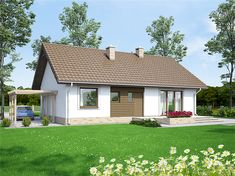 Zdjęcie projektu Mokka 3 WOF1080 Shed, Outdoor Structures, Cabin, House Styles, Home Decor, Decoration Home, Room Decor, Cabins, Cottage