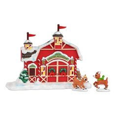 Department 56 Rudolph from Rudolph's Reindeer Barn Figurine, 5.51-Inch Department 56 http://www.amazon.com/dp/B00CPK1TIU/ref=cm_sw_r_pi_dp_Veyswb12KZE47