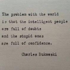 Citation de Charles Bukowski sur l& de BookoftheDad sur Etsy - Quotes - # # Typed Quotes, Poetry Quotes, Wisdom Quotes, Words Quotes, Wise Words, Quotes To Live By, Me Quotes, Sayings, Doubt Quotes