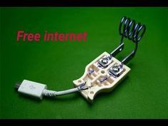 free internet - new idea free wifi internet 2019 Electronic Circuit Projects, Electronics Projects, Free Internet Tv, Smartphone Hacks, At Home Science Experiments, Wifi Extender, Free Wifi, Youtube, Frogs
