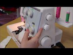 KURZY ŠITÍ- jak seřídit stroj a párání overlocku a rovnostehu - YouTube Diy And Crafts, Sewing, Youtube, Scrappy Quilts, Projects To Try, Dressmaking, Couture, Stitching, Sew