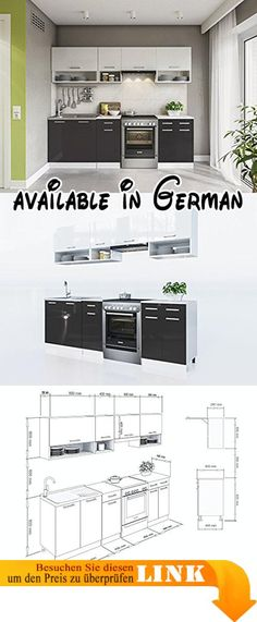 B00HE64YWS  ROLLER Unterschrank KULT FARO KUFR U606-9 Möbel - küchenblock 260 cm