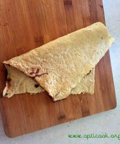 I just made bread ... out of just cauliflower, super low cal & carb flat bread. Vegan   grain, gluten & nut-free ! - Opti Cook