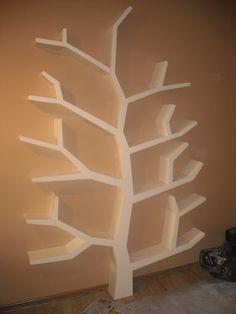 półka/ regał drzewo 210x150