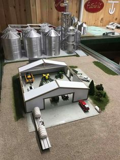 Farm Images, Farm Layout, Future Farms, Toy Display, Farm Toys, Mini Farm, Hobby Farms, Toy Trucks, Model Building