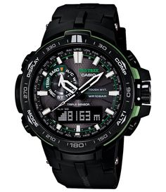 CASIO PROTREK triple sensor -- To view further for this item, visit the image link. Casio G Shock Watches, Sport Watches, Casio Watch, Cool Watches, Watches For Men, Casio Protrek, Camera Watch, Casio Edifice, Digital Watch